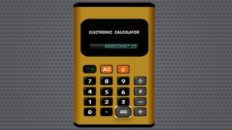 Electronic Pocket Calculator FREE