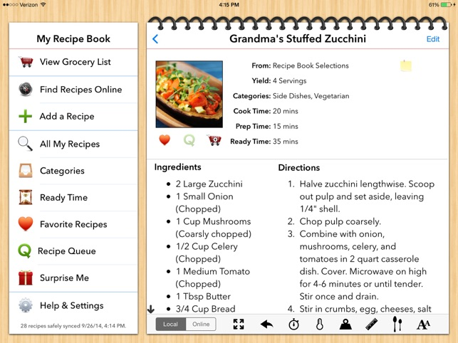 cookbook templates for mac - my recipe book your recipes finally organized on the