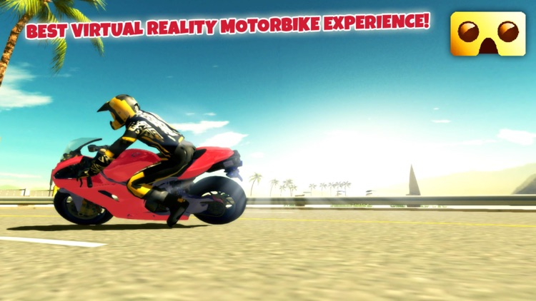 VR Motorbike Simulator : VR Game for Google Cardboard screenshot-4