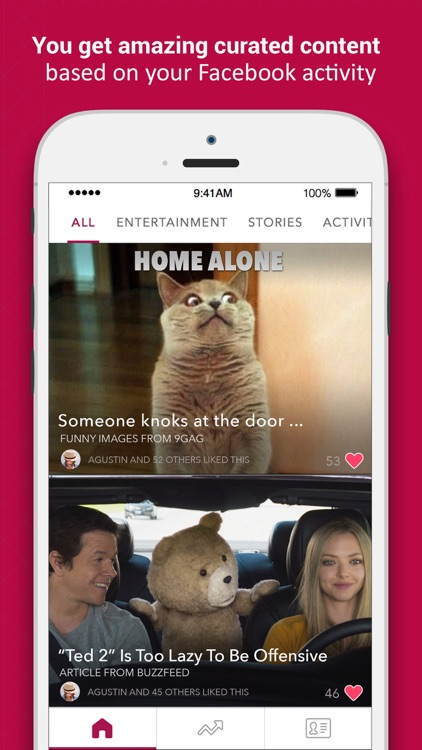FreshFeed - Your personalized feed of trending content, videos, gifs, news and more!