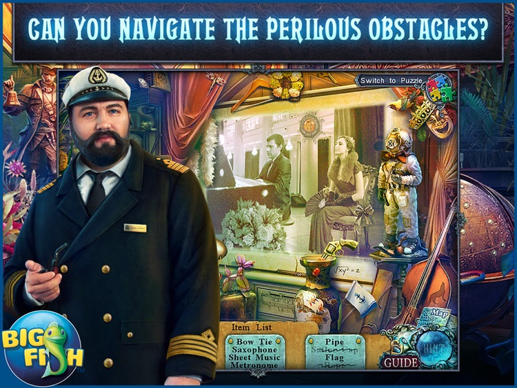 Fear for Sale: Endless Voyage HD - A Mystery Hidden Object Game