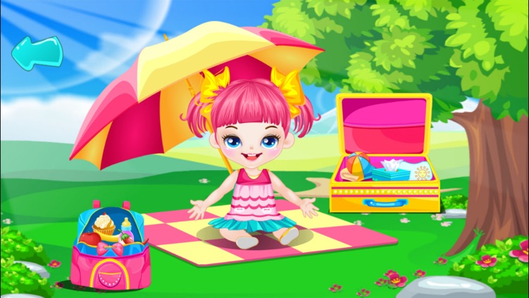 Baby Picnic With Friends free kids games screenshot-3