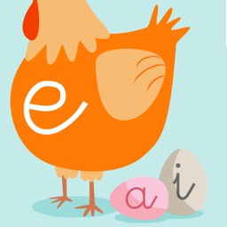 Learn to read and write the vowels - Preschool learning games - For iPhone