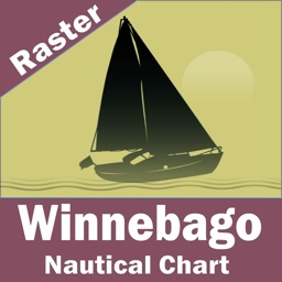 Lake Winnebago (Wisconsin) - Raster Nautical Charts