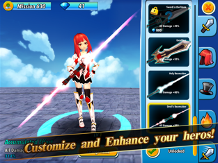 Billion Hunter - Casual Monster Clicker RPG, game for IOS