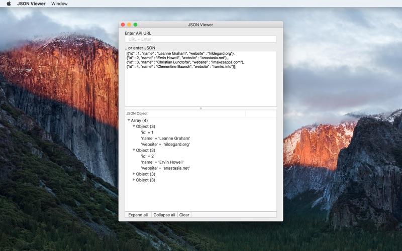 Smart Json Viewer review screenshots