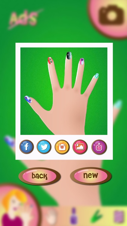 Nail Art Makeover Studio – Fancy Manicure Salon and Beauty Spa Game for Girls screenshot-3