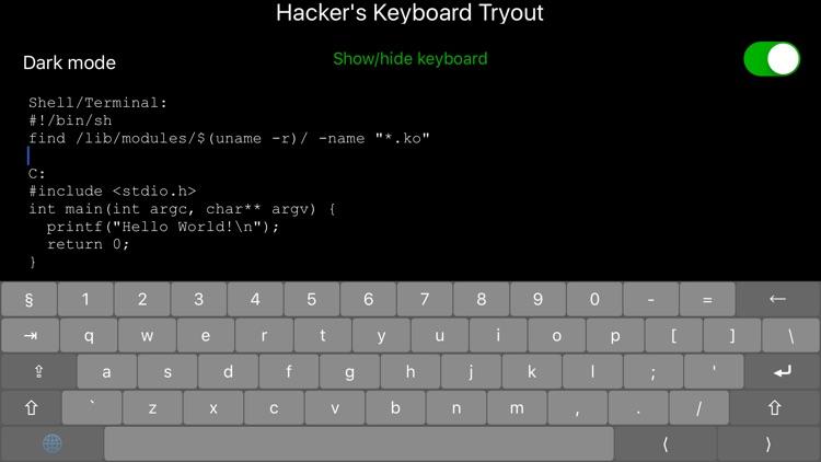 Hacker's Keys