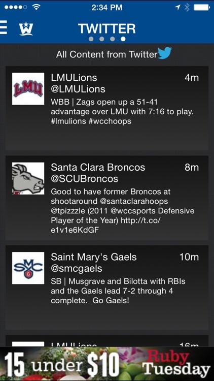 WCC Sports screenshot-3