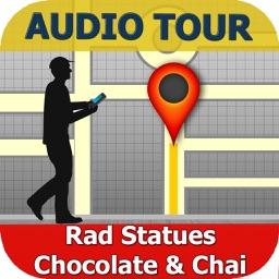 Rad Statues Chocolate & Chai Tour in Santa Cruz