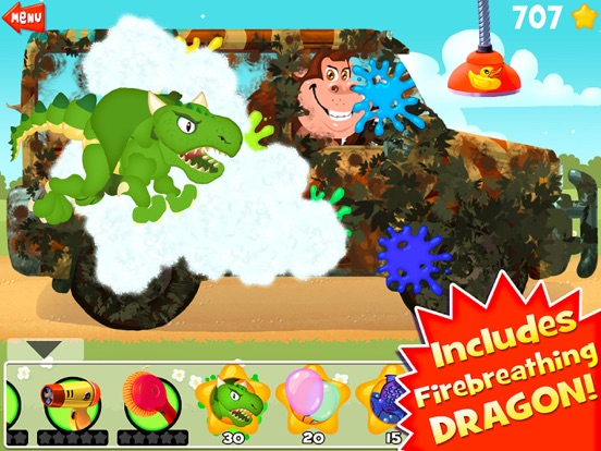 Amazing Car and Truck Wash - The free funny cars cleaning game for little kids and toddlers lite-ipad-4