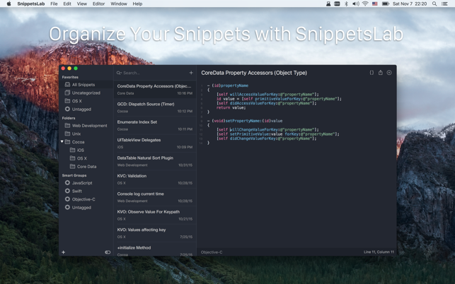 SnippetsLab Screenshot