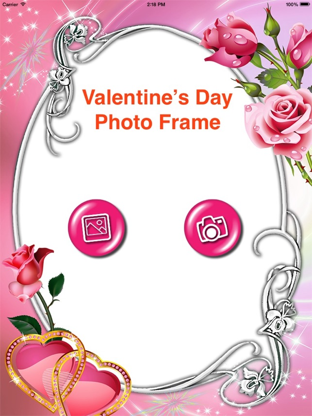 Valentine\'s Day Photo Frames 2017 - Love Frames on the App Store