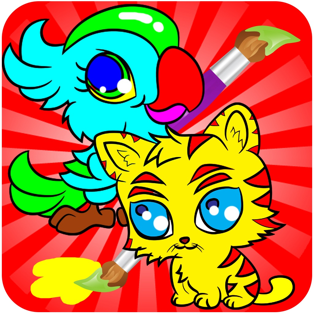 Animal Coloring Books - Drawing Painting  Games For Kids hack