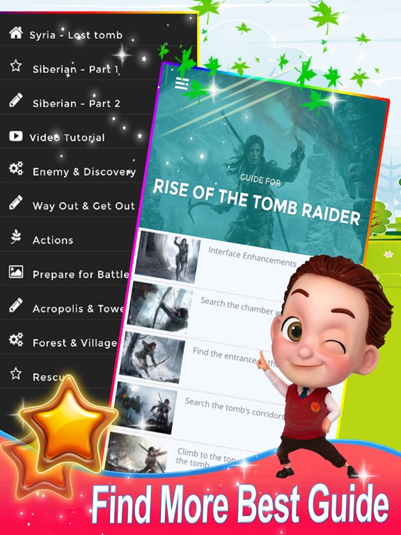 Ipad Screen Shot Guide for Rise of the Tomb Raider - New Video Guide 0