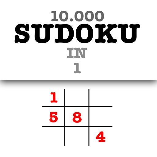 10 000 Sudoku Level in 1 Big Set