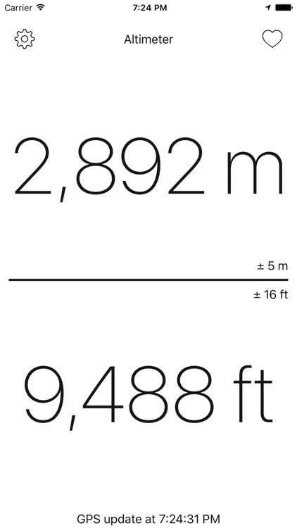Altimeter - get your altitude