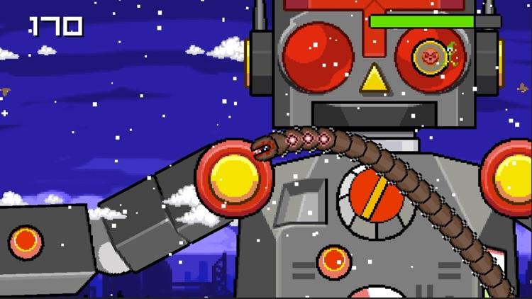 Super Mega Worm Vs Santa Saga screenshot-4