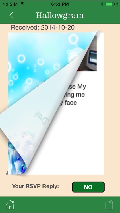 Hallowgram Social Invitations screenshot-0