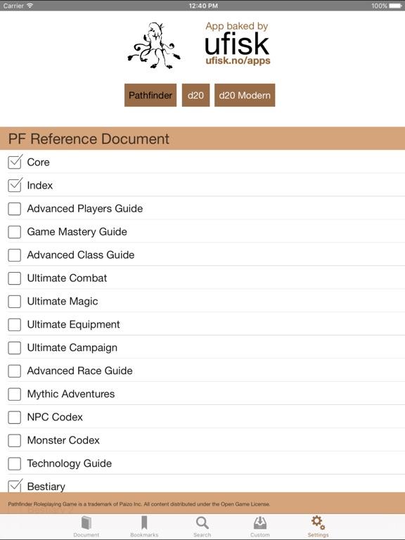 Screenshot #3 for RPG Books