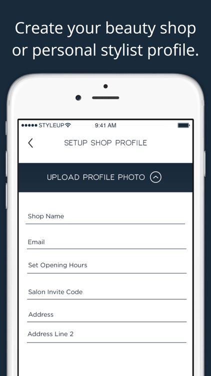 StyleUp for Salons - Scheduling & management screenshot-0