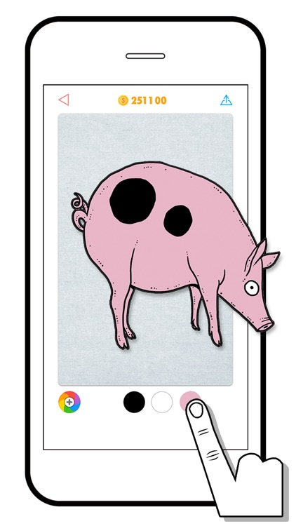 100 PICS Coloring - free color in book game app