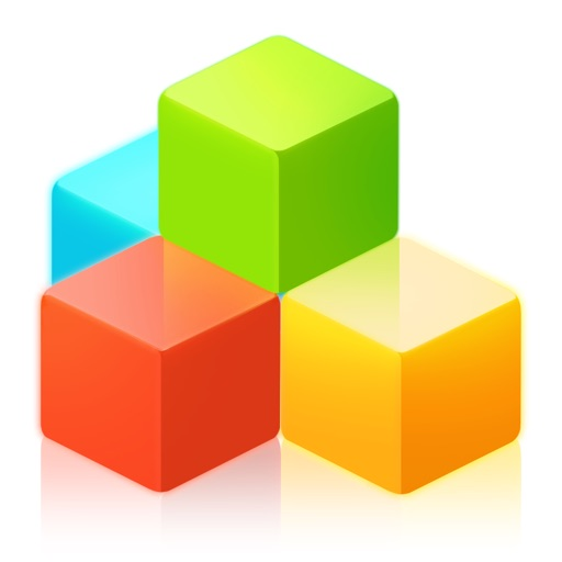Geometry Blocks Blitz - Trivia game of switch color cubes to clash brick to dash high score
