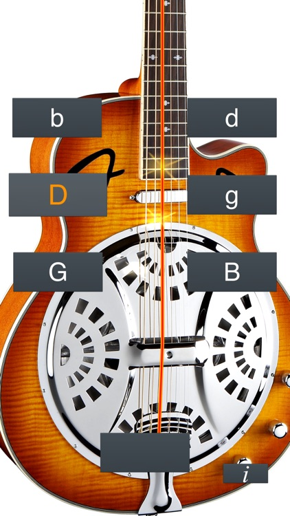 Dobro Tuner Simple screenshot-1