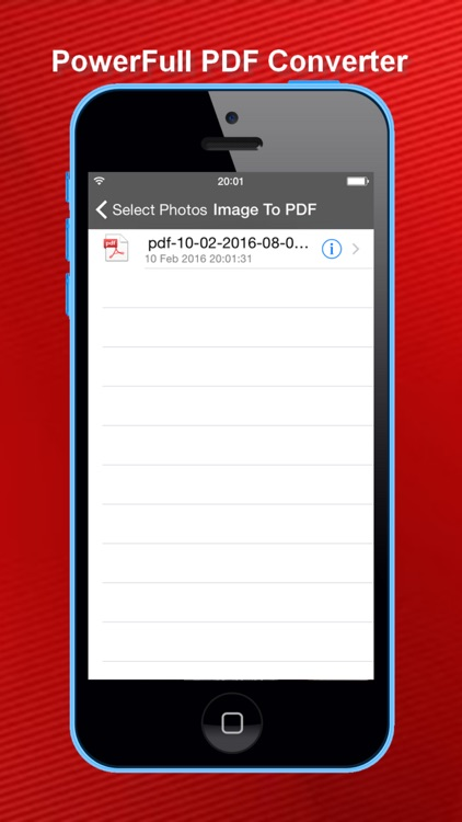 One-Click Image To PDF Converter screenshot-4