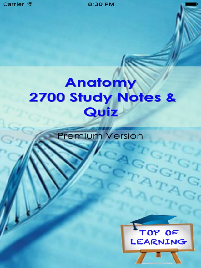 Anatomy & Physiology +2700 Study Notes & Exam Quiz on the App Store