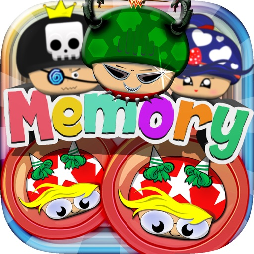 Memories Matching Mushroom land : Super Bros Puzzle Test Brain Games For Kids Free