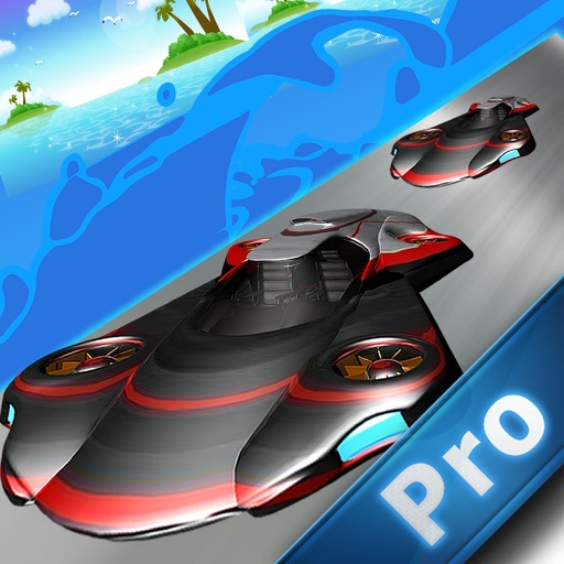 Air Car Frontier PRO - Sky Police Metal Race icon