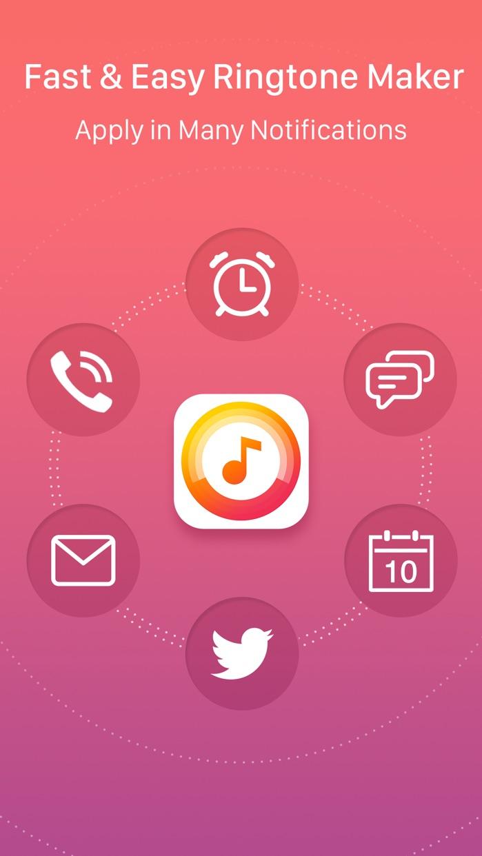Ringtone Maker – create ringtones with your music Screenshot