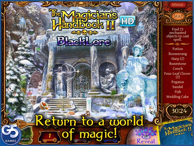 The Magician's Handbook II: Blacklore HD screenshot-0