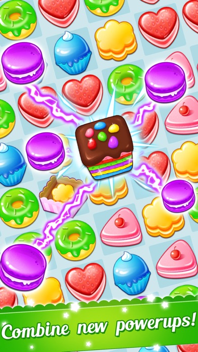 Cookie Fever 2 - Blast candy to win the scrubby pet screenshot one