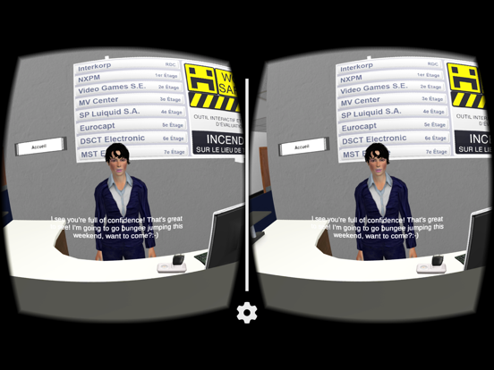 Ipad Screen Shot Under CalyPso VR 2