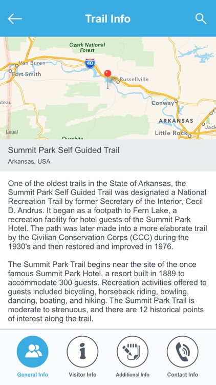 Arkansas Recreation Trails