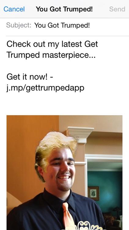 Get Trumped - Billionaire Hair Photo Booth screenshot-4