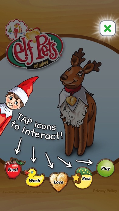 Screenshot #6 for Elf Pets® Virtual Reindeer
