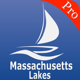 Massachusetts Lakes Nautical charts pro