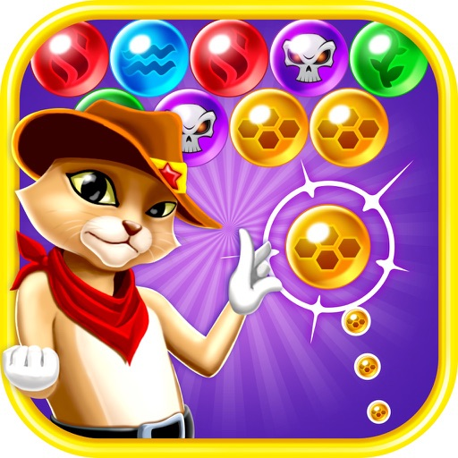 Головоломка: шарики стрелялки - Witch Cat Pop - Addicting World Bubble Shooter Game Free 2016