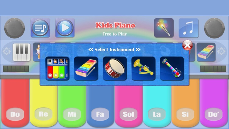 Kids Piano Free screenshot-1