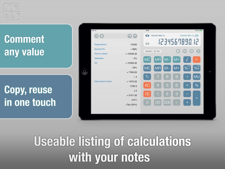 Free Calculator Total Recalc – Business desktop tool with proper percentage and tax calculation, MU and rounding