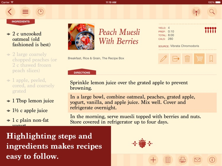 The Recipe Box - Your Kitchen, Your Recipes screenshot-3