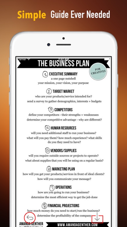 How to Write a Business Plan: Reference Guide with Tutorial Video screenshot-1