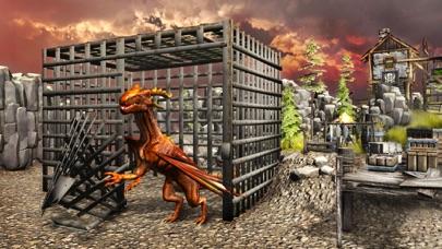 ドラゴンフューリーシミュレータ3D - 捕食者の復讐のフライトシミュレーションゲームのスクリーンショット2