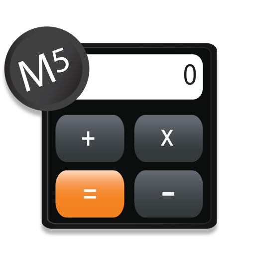 M5 Calculator - The Awesome Simple Everyday Memory Calculator
