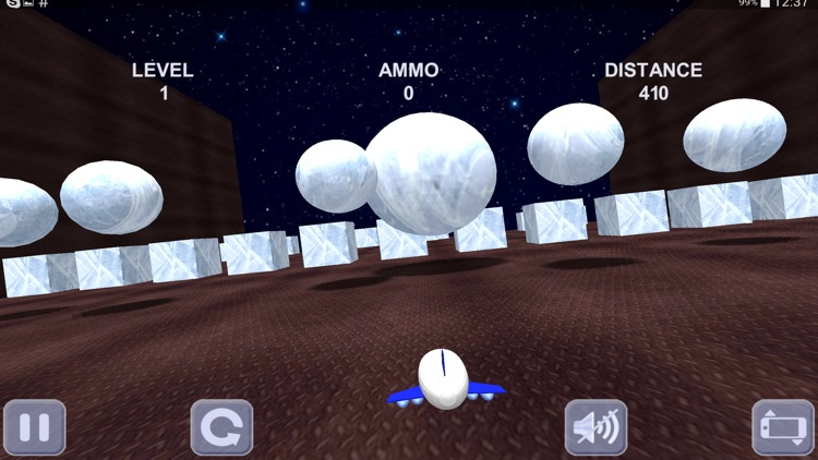 Space shuttle and labyrinth 3D screenshot-3