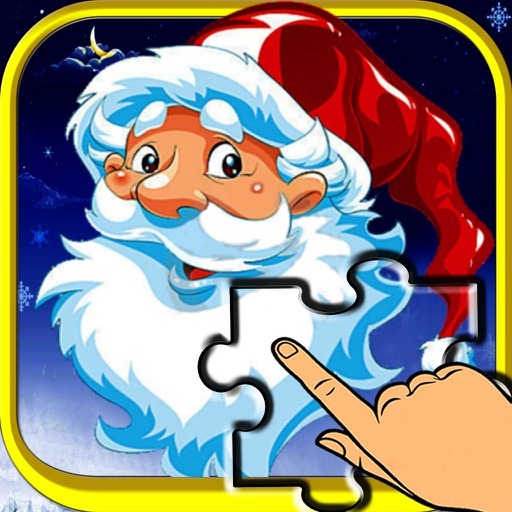Christmas Slide me Puzzle - Santa Claus, Snowman, and Reindeer Jigsaw Puzzles for Boys,Girls & Toddlers