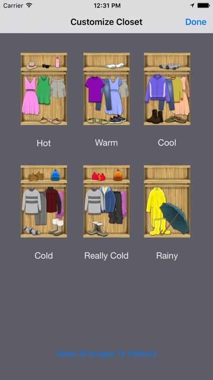 iDress for Weather screenshot-4